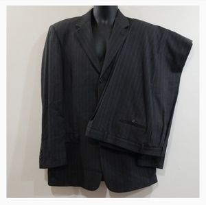 Unlisted a Kenneth Cole production pinstriped suit